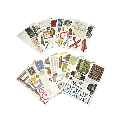 "Anna Griffin® ""For the Boys"" Die-Cuts - 396-pack"