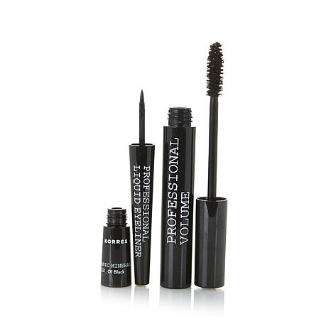 Korres 3-D Volume Mascara and Pro Liner Duo