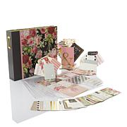 Anna Griffin® Rose Pocket Scrapbook & Embellishments