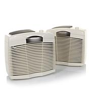 Hunter Eco-Silver Perma HEPAtech Air Purifier Duo