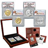 2015 ANACS 69 FDOI Harry S. Truman Coin & Chronicles