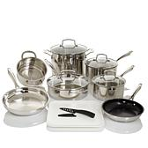 Cuisinart Professional 13pc Stainless Cookware Set