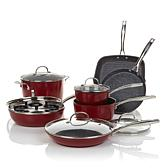 Curtis Stone DuraPan 13pc Forged Nonstick Cookware Set