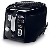 De'Longhi 2.2 lb Cool-Touch Roto Deep Fryer - Black