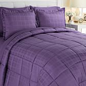 JOY 7-piece Sheet and Comforter Set with Warm and Cool