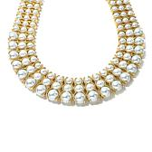 "Roberto by RFM ""Gioiello Marino"" Triple Row Necklace"
