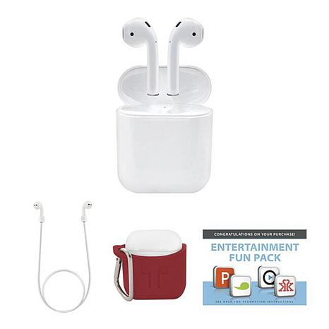 9eee7da7263 Apple AirPods Truly Wireless Earphones with Charging Case - 8741901 ...