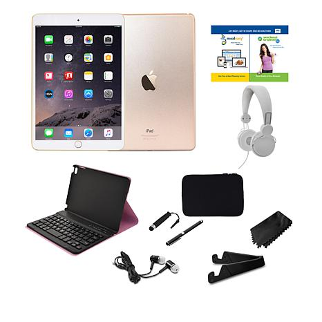 Apple iPad Mini™ 4 128GB Wi-Fi Tablet w/Keyboard Case ...