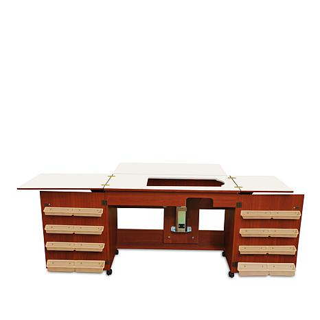 Arrow Bertha Sewing Table - Cherry