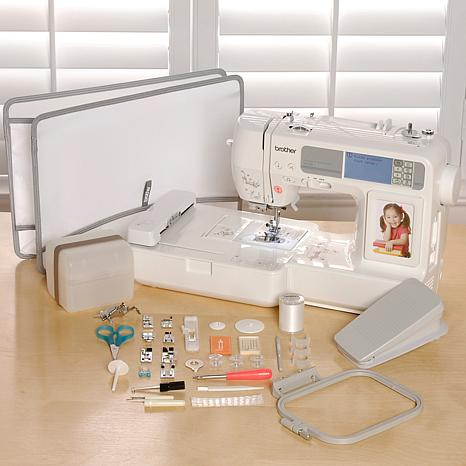 Embroidery and Sewing Machine with USB