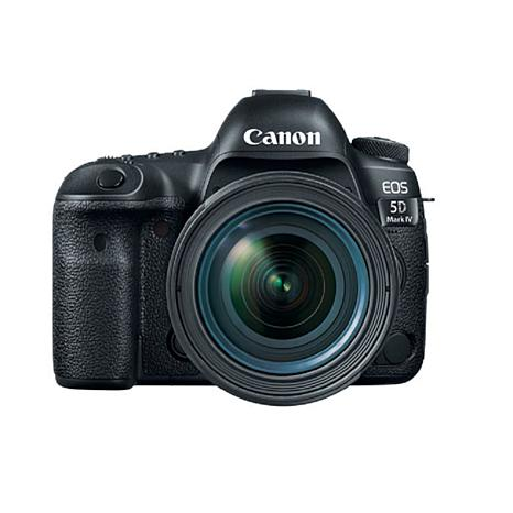 canon eos 5d mark iv dslr camera with 24 70mm f4l lens