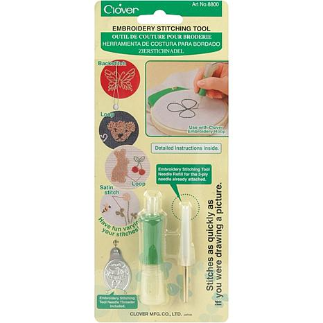 Clover Stitch Guide Clover Embroidery Stitching