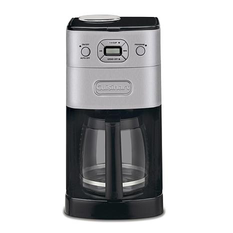 Cuisinart Grind-and-Brew Automatic 12-Cup Coffee Maker - 7215515 HSN