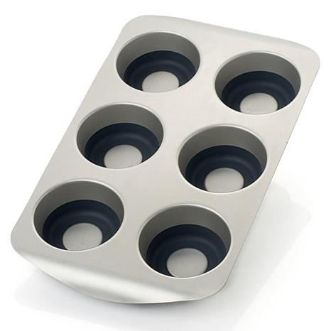 Curtis Stone Pop-Out Steel and Silicone Muffin Pan