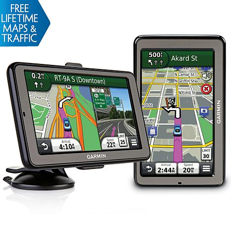 "Garmin nüvi 2595LMT 5"" GPS w/Lifetime Maps & 3D Traffic"