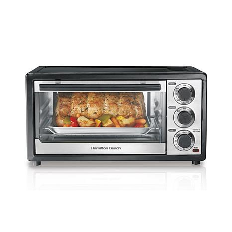 Hsn Countertop Oven : Hamilton Beach 6-Slice-Capacity Toaster Oven - 8314101 HSN