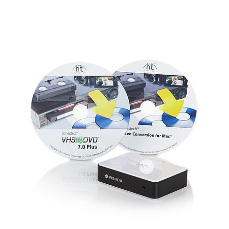 Honestech VIDBOX Video Transfer Conversion Suite
