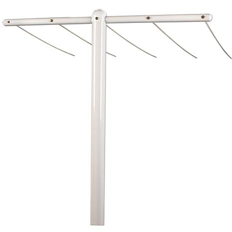 Household Essentials XL Outdoor Steel Clothesline Post