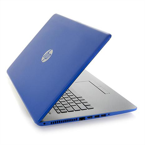 """hp 17"""" touch intel core i3, 8gb ram, 256gb ssd laptop with"""