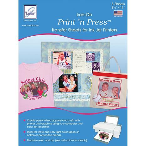 June Tailor Print N Press Iron On Transfer Paper
