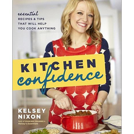 "Kelsey Nixon ""Kitchen Confidence"" Handsigned Cookbook"