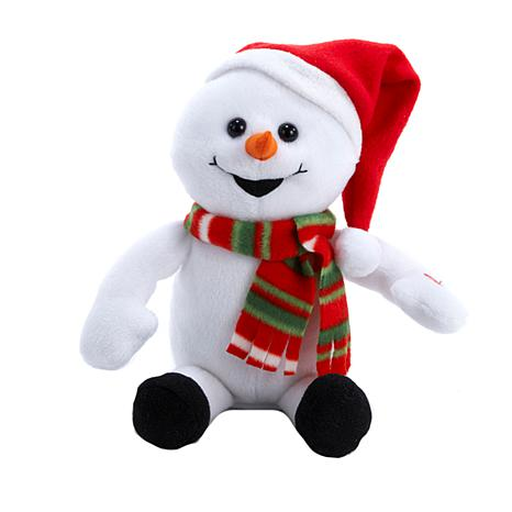 "Kurt Adler 10"" Laughing and Farting Snowman"