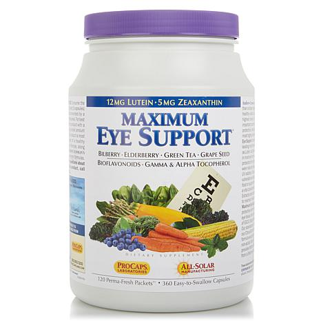 Lessman Maximum Eye Support 120 Perma-Fresh Packets