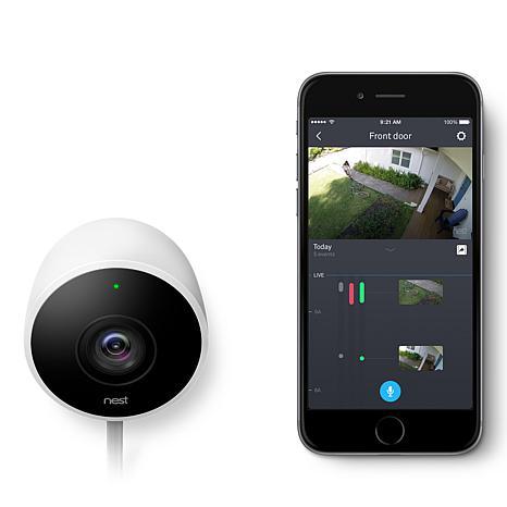 nest cam outdoor weatherproof hd security camera 8262044. Black Bedroom Furniture Sets. Home Design Ideas