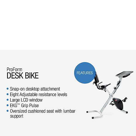 Proform Desk Bike With 8 Levels Of Resistance 8086666 Hsn