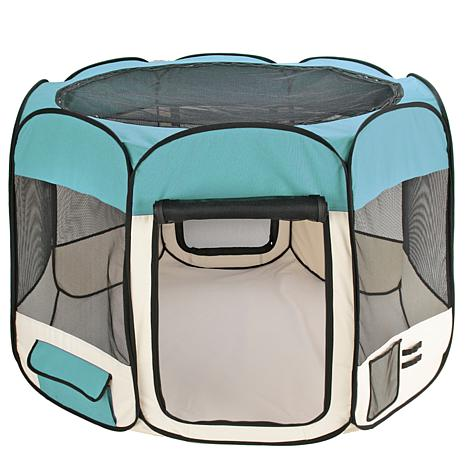 Small Doggie Dorm Portable Pet Pen