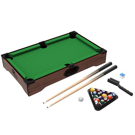 ... Games™ Mini Table Top Pool Table with Accessories - 6498540 | HSN