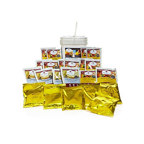 Wise Company Emergency Meals Kit with 124 Servings