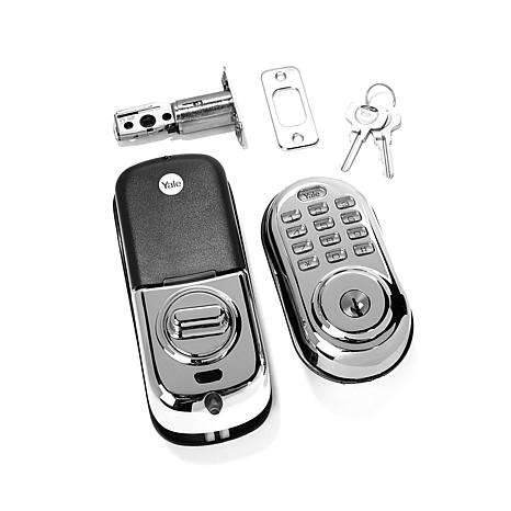 Yale Illuminated-Keypad Programmable Deadbolt Lock
