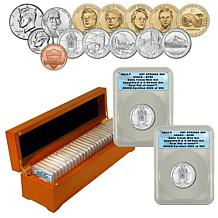 2010 SP69 ANACS 28-Coin Mint Set FDOI LE 393