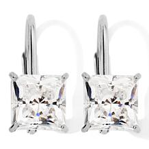 2ct Absolute™ 14K Princess-Cut Leverback Earrings