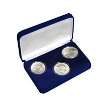 3 Centuries of Silver Dollars 3-Coin Set
