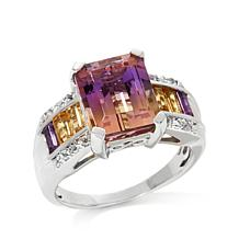 Colleen Lopez 7.11ct Ametrine and Gem Ring