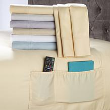 Concierge Collection 400TC Easy-Care Pocket Sheet Set