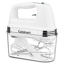 Cuisinart 9-Speed White Hand Mixer with Storage Case