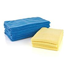 DOC Anti-Microbial Microfiber Cloths - 20-pack