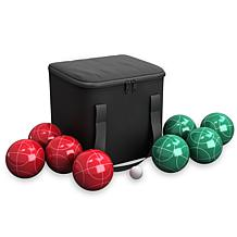 Full Size Premium Bocce Set with Easy Carry Bag