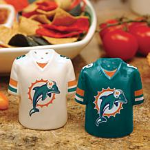Gameday Ceramic Salt and Pepper Shakers - Dolphins