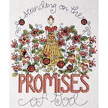 "Heartfelt Promises 8"" x 10"" Counted Cross Stitch Kit"