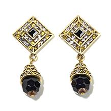 "Heidi Daus ""Fearless Beauty"" Crystal Drop Earrings"