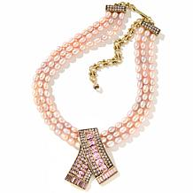 "Heidi Daus ""Keep Sparkling"" 3-Row Necklace"
