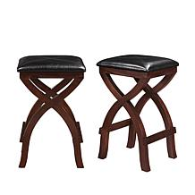 Home Origin James Set of 2 Counter Height Stools