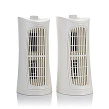 Hunter Perma 5-Stage UVC Air Purifier 2-pack