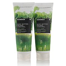 Korres Basil Lemon Body Butter Jumbo 2-pack