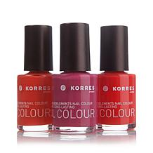 Korres Nail Color Trio - The Brights