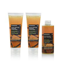 Korres Papaya Mango Bath and Body 3-piece Set